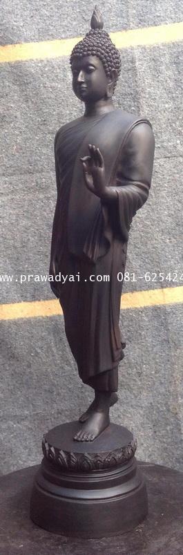 พระบูชา พระพุทธรูปปางลีลา ขนาด 12 นิ้ว