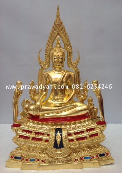 พระบูชา พระพุทธชินราช ติดพระโมคคัลลานะ พระสารีบุตร