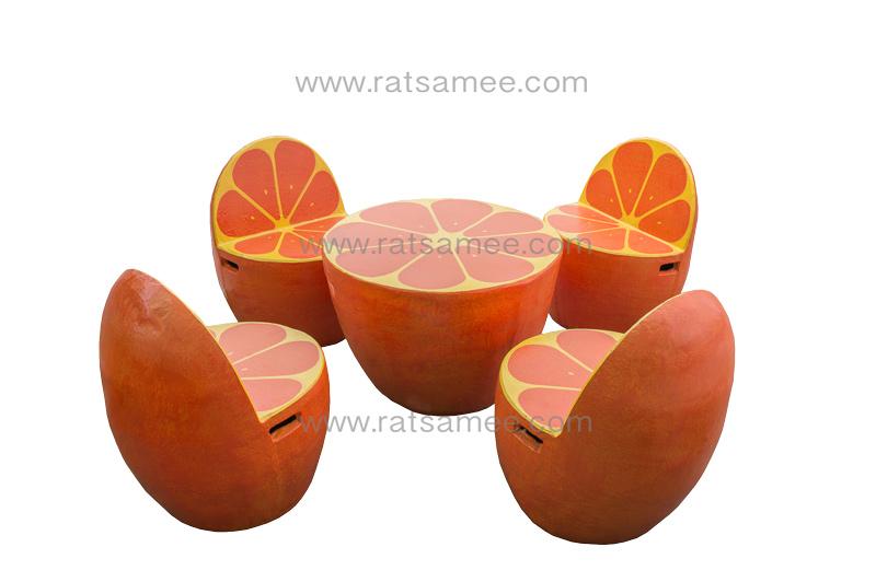 ชุดผลไม้ส้ม