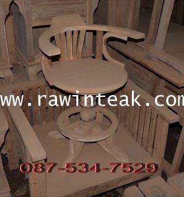 เก้าอี้บาร์ไม้สัก