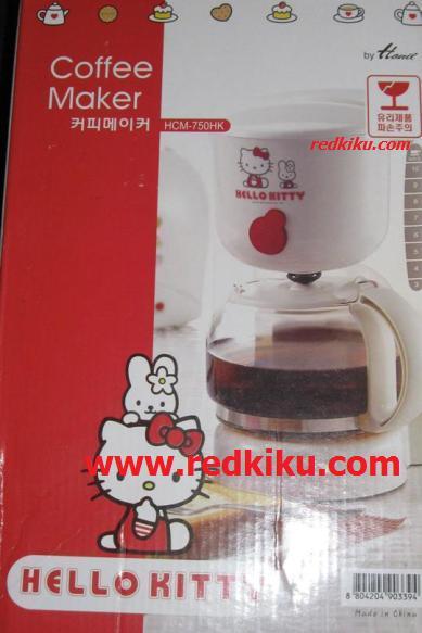 เครื่องทำกาแฟ/ชงกาแฟ คิตตี้kitty ลิชสิทธิ์ ใช้ไฟไทยได้แปลงแล้ว
