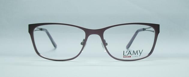 แว่นตา L\'Amy VALERIE สีแดงเข้ม