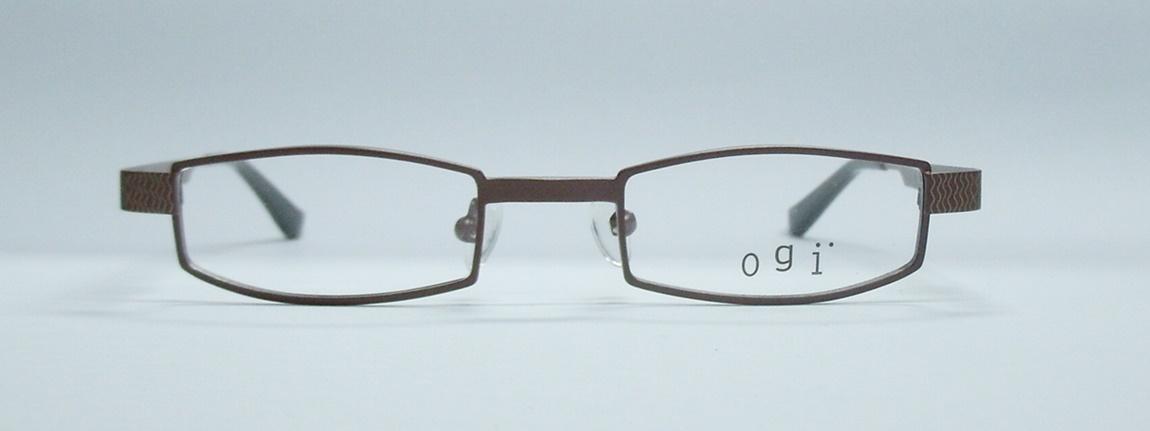 แว่นตาเด็ก OGI 2198 สีน้ำตาล