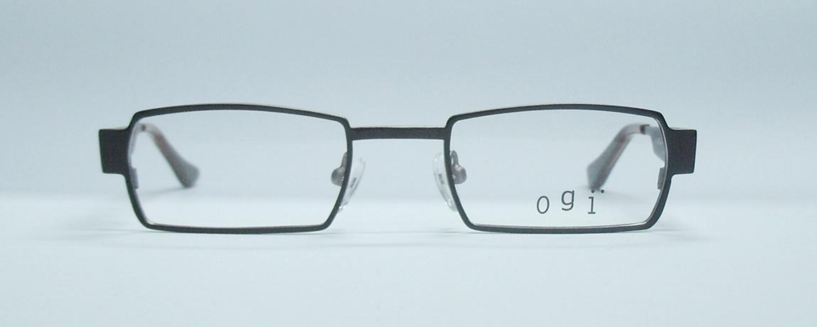 แว่นตาเด็ก OGI OK48 สีน้ำตาล