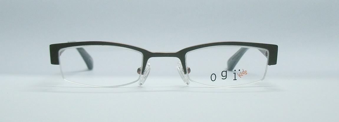 แว่นตาเด็ก OGI OK2196 สีเทา-แดง