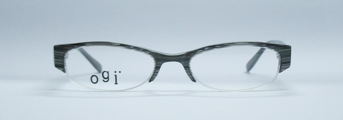 แว่นตาเด็ก OGI A7080 สีเทาลาย