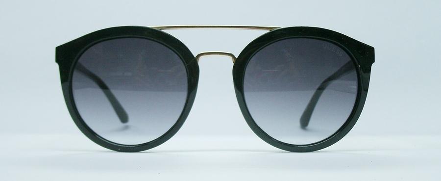 แว่นกันแดด GUESS GU7387 สีดำ