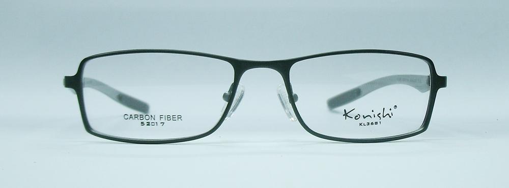 แว่นตา KONISHI KL3681 สีดำ