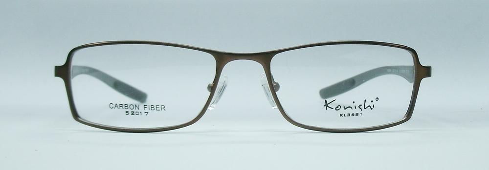 แว่นตา KONISHI KL3681 สีน้ำตาล