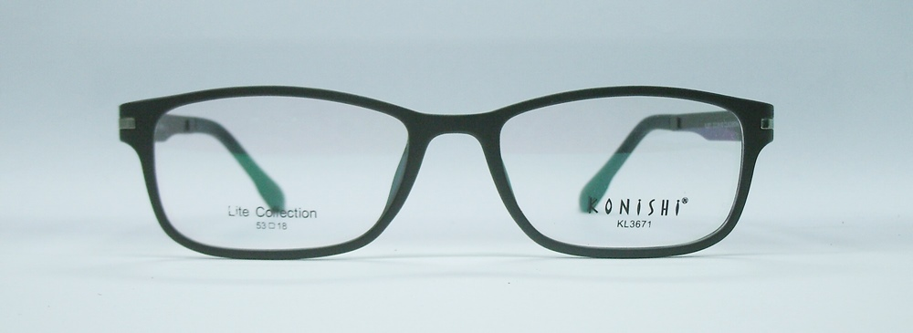 แว่นตา KONISHI KL3671 สีน้ำตาล