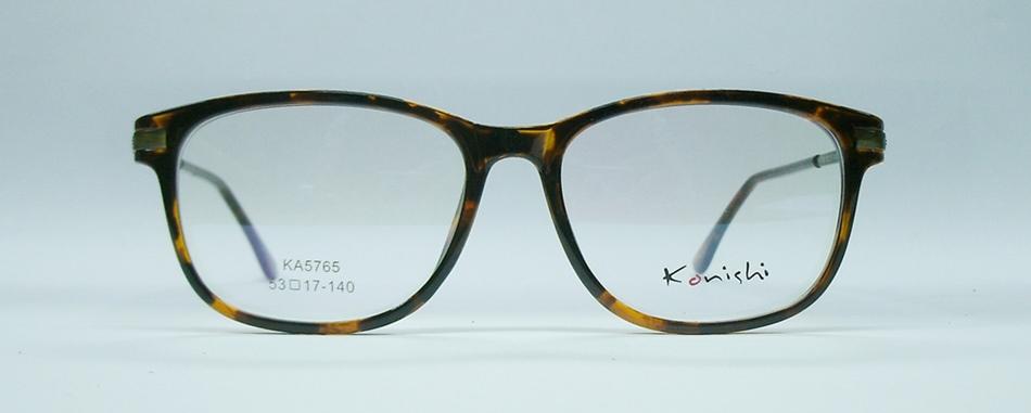 แว่นตา KONISHI KA5765 สีน้ำตาลกระ