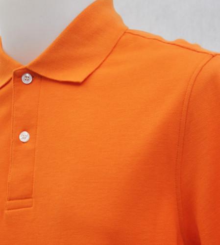 เสื้อโปโลสำเร็จรูป สีส้ม 1