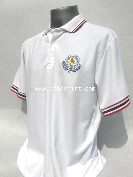 P024 เสื้อโปโล  ผลิตเสื้อโปโล โรงงานผลิตเสื้อโปโลครบวงจร เสื้อโปโลสั่งผลิต