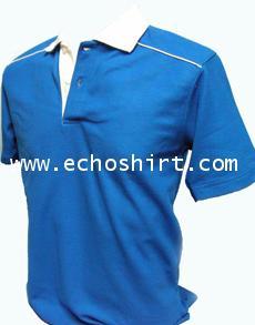 P034 เสื้อโปโลต่อไหล่กุ๊นเดี่ยว ผลิตเสื้อโปโล โรงงานผลิตเสื้อโปโลครบวงจร เสื้อโปโลสั่งผลิต