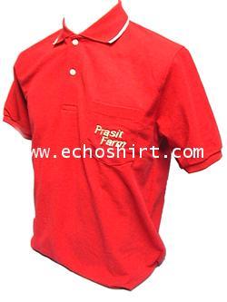 P037  เสื้อโปโลปกทอเส้นขลิบเพิ่มกระเป๋า ผลิตเสื้อโปโล โรงงานผลิตเสื้อโปโลครบวงจร เสื้อโปโลสั่งผลิต