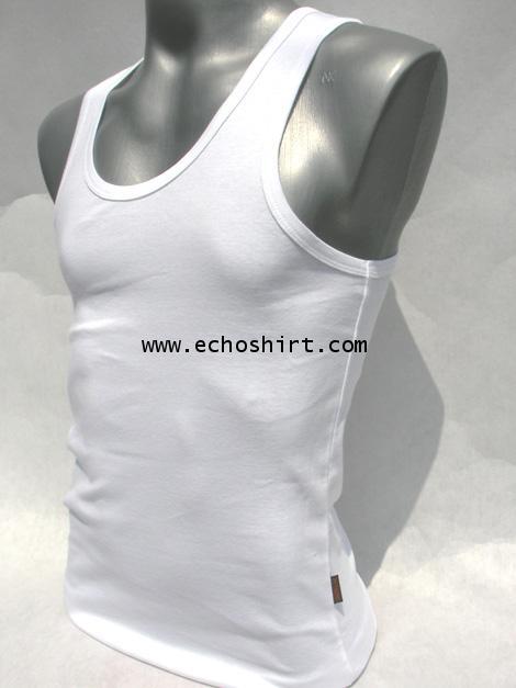 BS001 เสื้อกล้ามเข้ารูปบอดี้ไซด์ COTTON 100% ผลิตเสื้อคอกลม โรงงานผลิตเสื้อคอกลมครบวงจร เสื้อคอกลมสั
