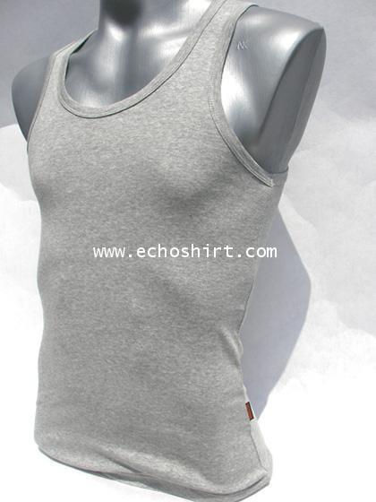 BS002 เสื้อกล้ามเข้ารูปบอดี้ไซด์ cotton 100% ผลิตเสื้อคอกลม โรงงานผลิตเสื้อคอกลมครบวงจร เสื้อคอกลมสั
