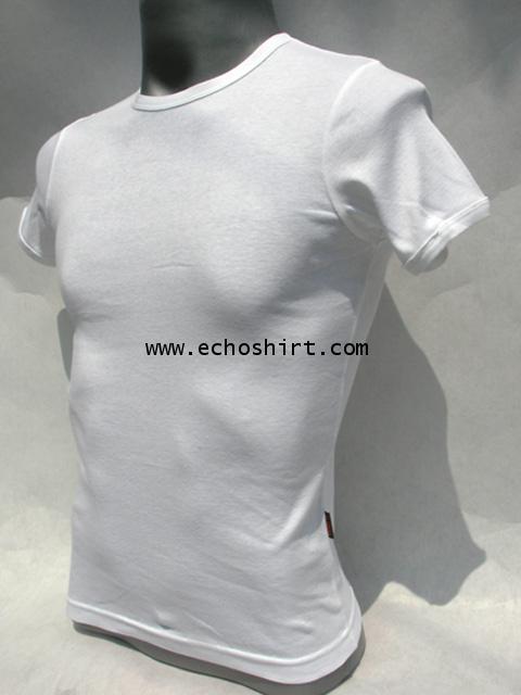 BS007 เสื้อคอกลมเข้ารูป บอดี้ไซด์ Cotton 100% ผลิตเสื้อคอกลม โรงงานผลิตเสื้อคอกลมครบวงจร เสื้อคอกลมส