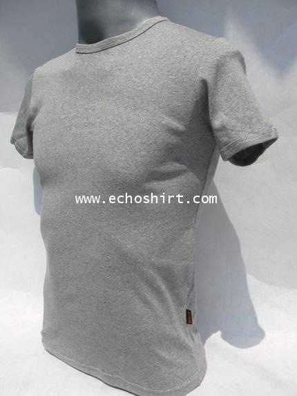 BS008 เสื้อคอกลมเข้ารูป บอดี้ไซด์ Cotton 100% ผลิตเสื้อคอกลม โรงงานผลิตเสื้อคอกลมครบวงจร เสื้อคอกลมส