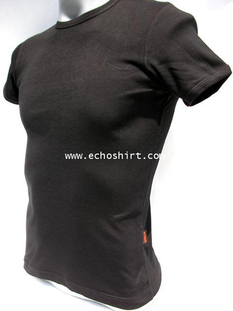 BS009 เสื้อคอกลมเข้ารูป บอดี้ไซด์ Cotton 100% ผลิตเสื้อคอกลม โรงงานผลิตเสื้อคอกลมครบวงจร เสื้อคอกลมส