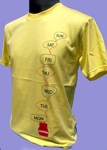 T-Shirt 011 เสื้อคอกลมพร้อมสกรีน silk screen, sublimation, heat transfer, CMYK digital print  ผลิตเส