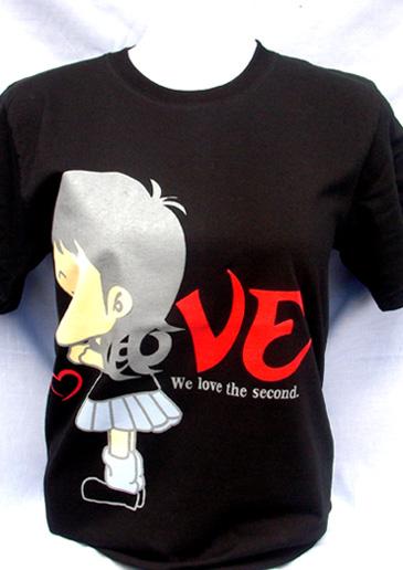 T-Shirt 012 เสื้อคอกลมพร้อมสกรีน silk screen, sublimation, heat transfer, CMYK digital print  ผลิตเส