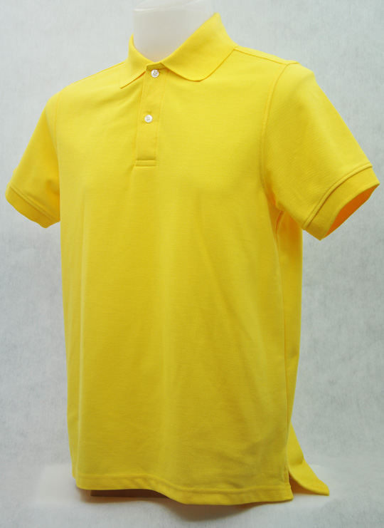 เสื้อโปโลสำเร็จรูป สีเหลือง