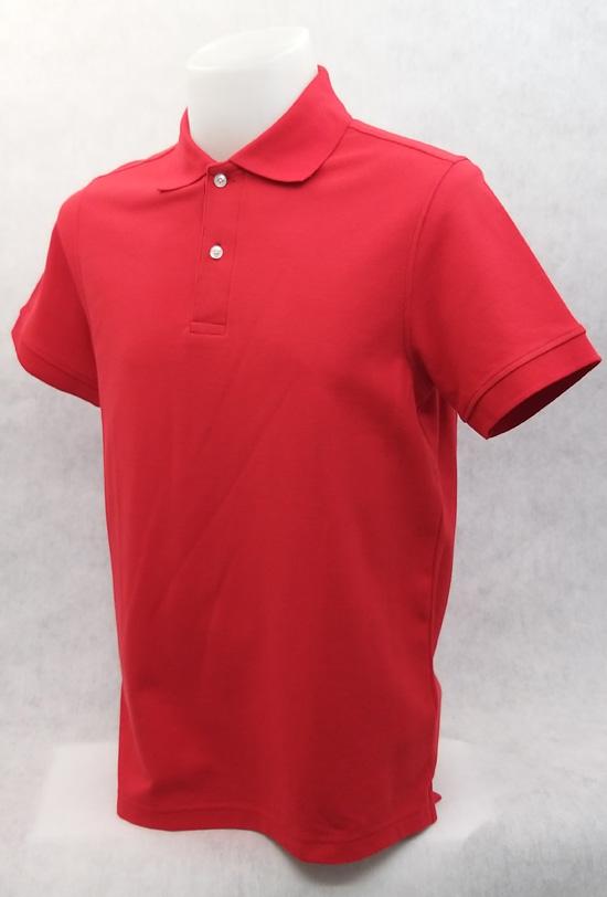 เสื้อโปโลสำเร็จรูป สีแดง