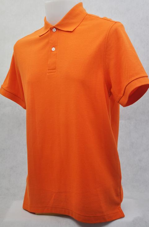 เสื้อโปโลสำเร็จรูป สีส้ม