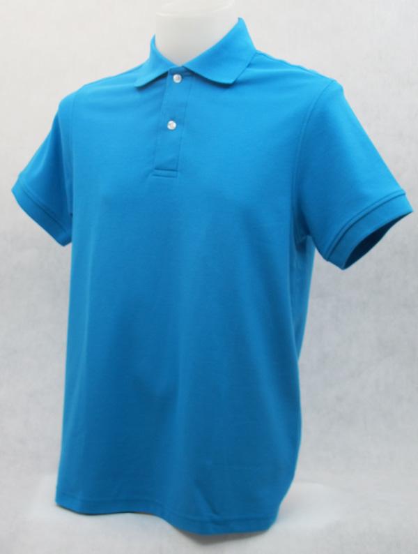เสื้อโปโลสำเร็จรูป สีฟ้าเข้ม