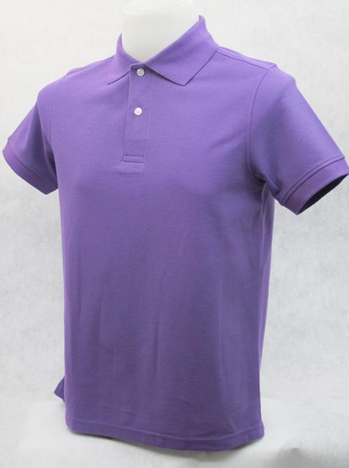เสื้อโปโลสำเร็จรูป สีม่วง