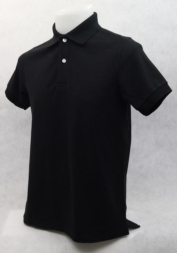 เสื้อโปโลสำเร็จรูป สีดำ