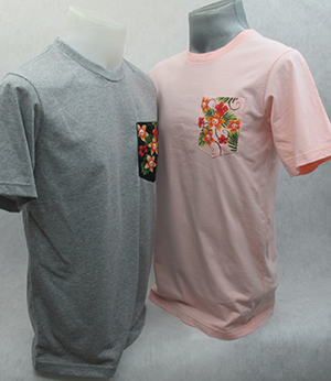 T-Shirt 017 เสื้อคอกลมพร้อมสกรีน silk screen, sublimation, heat transfer, CMYK digital print  ผลิตเส