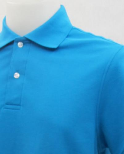 เสื้อโปโลสำเร็จรูป สีฟ้าเข้ม 1