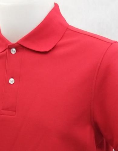 เสื้อโปโลสำเร็จรูป สีแดง 1