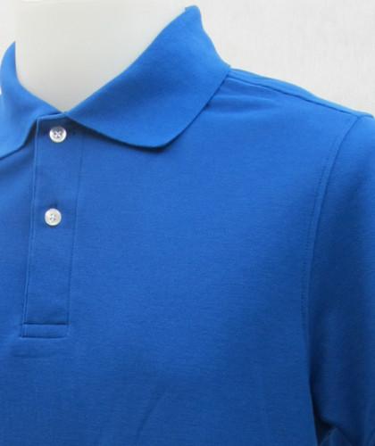 เสื้อโปโลสำเร็จรูป สีน้ำเงิน 1