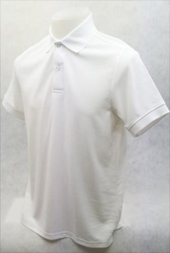 เสื้อโปโลสำเร็จรูป สีขาว