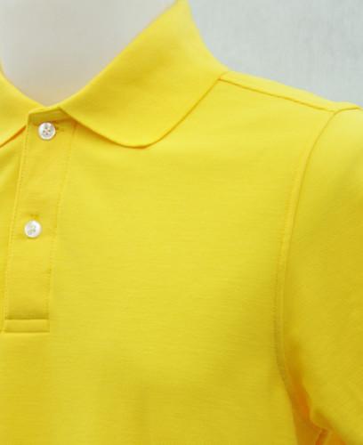 เสื้อโปโลสำเร็จรูป สีเหลือง 1
