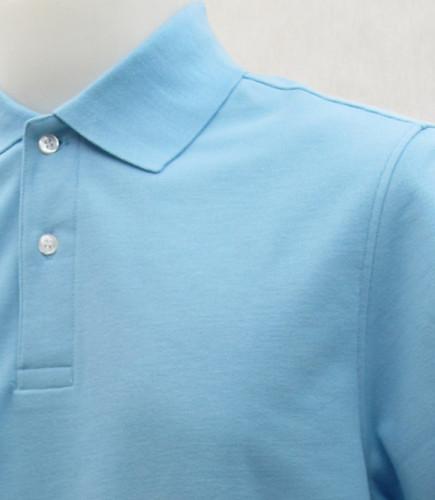 เสื้อโปโลสำเร็จรูป สีฟ้า 1