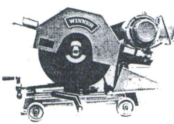 แท่นตัดไฟเบอร์ ยี่ห้อWinner ขนาด16(นิ้ว) 220 V.