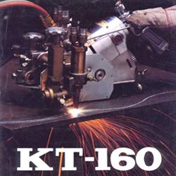 เครื่องตัดแก็สตามราง ยี่ห้อTanaka รุ่นKT-160N ตัดได้ 50มม.