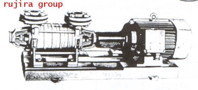 ปั้มน้ำหอยโข่ง ชนิดหลายใบพัด INTERSIGMA 25SVD-3
