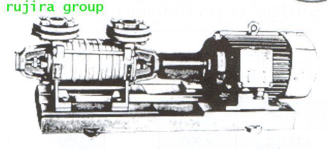 ปั้มน้ำหอยโข่ง ชนิดหลายใบพัด INTERSIGMA 25SVD-4