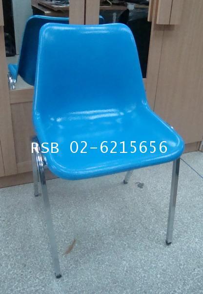เก้าอี้สำนักงานโพลี  เก้าอี้ทำงาน 376 ขาเหล็ก ราคาส่ง