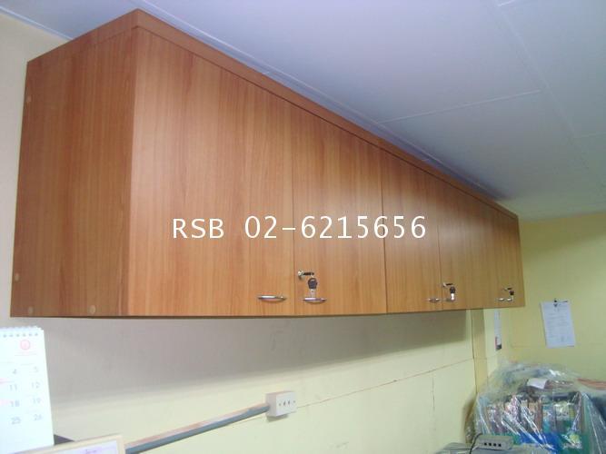 ตู้เก็บเอกสารแบบแขวนลอยติดผนัง W100XD35XH50CM บานเปิด ปิด รหัส 387