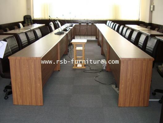 โต๊ะประชุมตัวต่อ จำนวน 20-22 ที่นั่ง W660XD200 CM รหัส 674