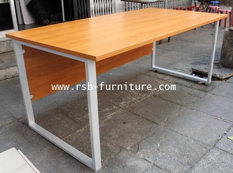 โต๊ะทำงาน โต๊ะผู้บริหาร 180 cm ความลึกพิเศษ 90 cm