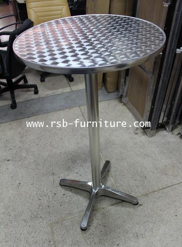 โต๊ะอลูมิเนียม แบบยืน สูง 110 cm