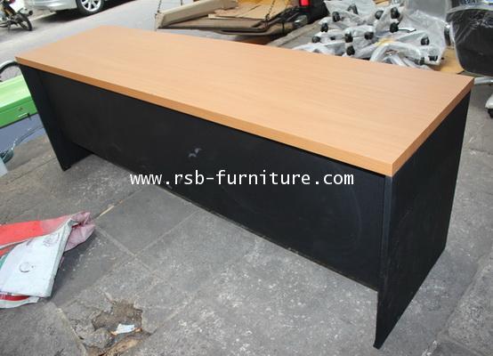 โต๊ะคอมพิวเตอร์ โต๊ะทำงาน 180 cm แบบโล่ง