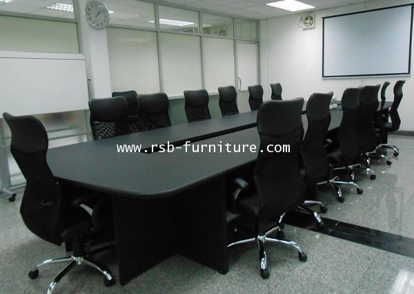 โต๊ะประชุมตัวต่อ16-20ที่นั่ง ขนาด W180XD600CM รหัส 908